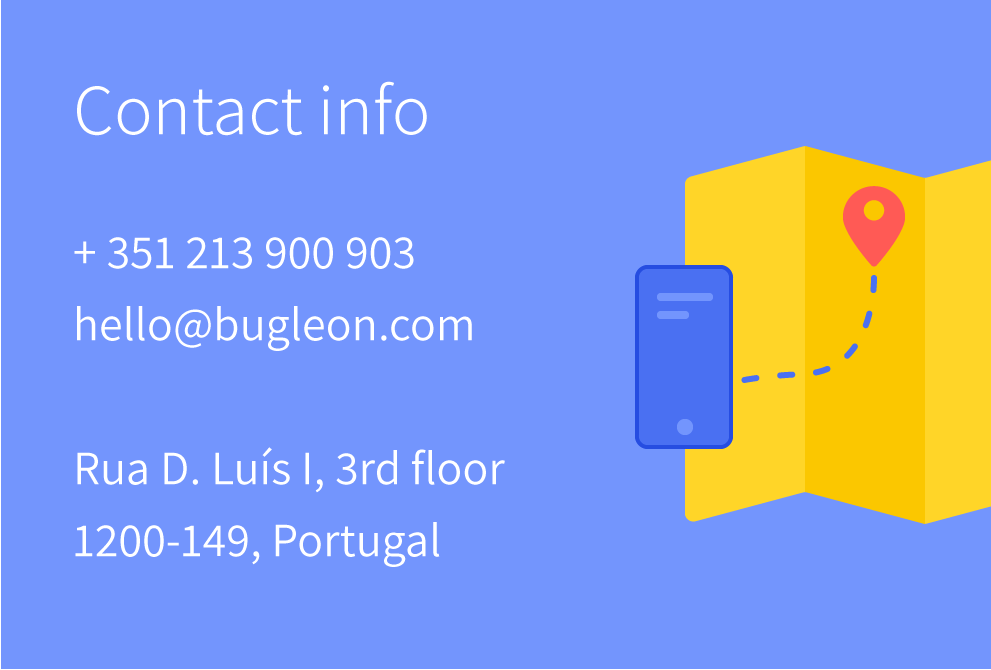 bugle video training contacts