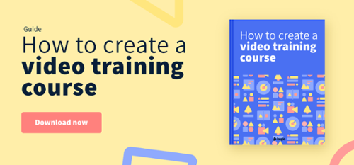 How to create a video training course eBook