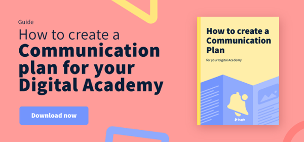 How to create a communication plan for your training academy